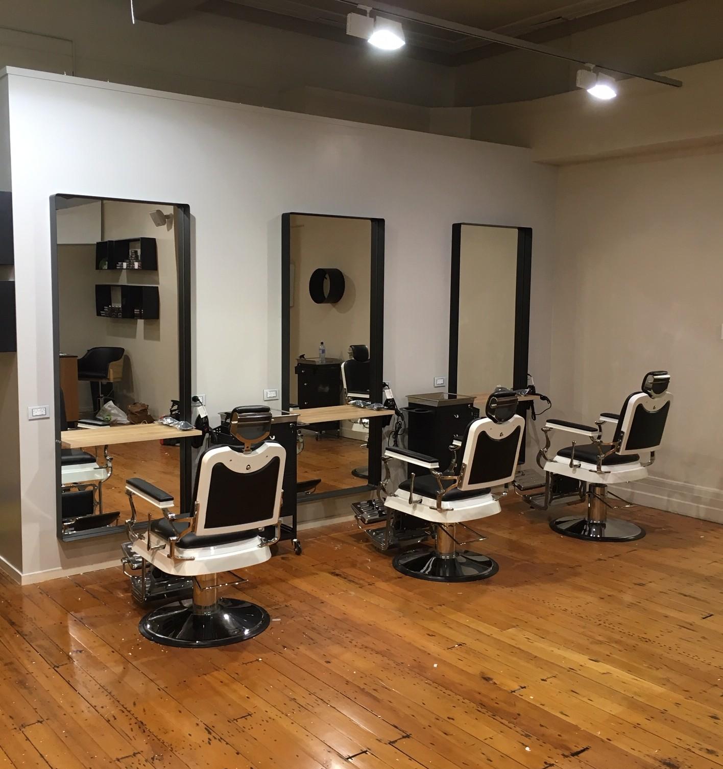 The New Barber Salon in Devonport